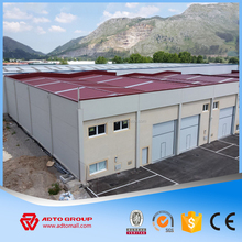 Factory Supply Design Prefabricated Single Storey Industrial Building Light Steel Structure Construction Workshop