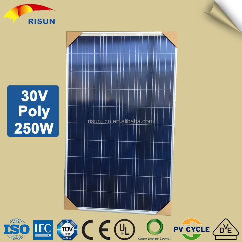 Hot Selling 60 Cell Solar Photovoltaic Module Poly 250W
