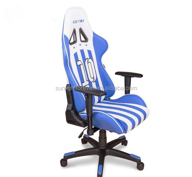Special Shaped Office Chair Racing Gaming Chair With Optional Accessories And Color For Net Bar Office And Home Use