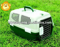 hot sale plastic pet dog flight airline cage three colors manufacturer