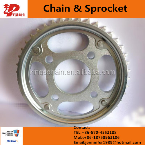 Indonesia market Motorcycle Chains and Sprockets SUPRA 428-40T