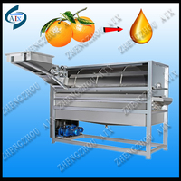 5t/h orange peel essential oil extraction/orange oil press for sale