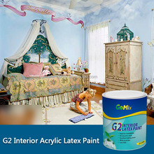 G2 eco-friendly interior wall paint