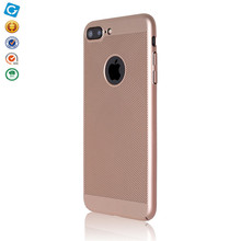 cross stitch phone cases mesh design oil coating PC cover for iphone 7 plus
