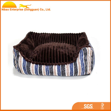 2017 new products hot sale pet bed square dog cushion