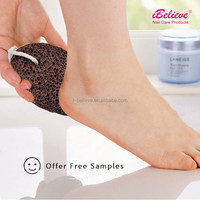 2017 iBelieve Natural lava pumice stone for callus remover