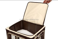 2014 wholesale fashion decorative plastic storage case with handle
