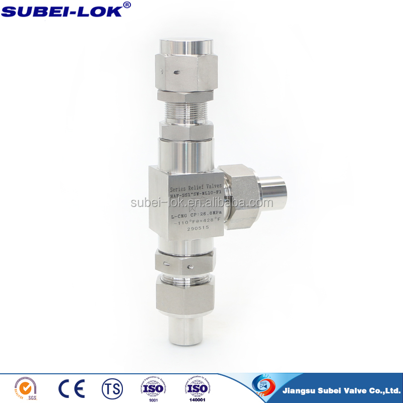 brass relief valve safety relief valve ss304 ss316 6000psi 10000psi