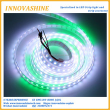 smd 5050 60 chip Magic dream color ic Built-in pixel digital tape light 5v dc individually ws2812b addressable rgb led strip