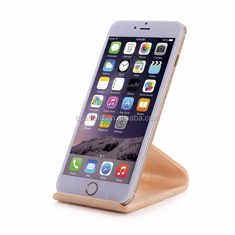Mobile phone supporting frame,wooden iphone stand,bentwood fashion mobile phone support holder G.W:60g N.W:33g