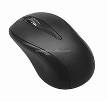 hot selling 2.4g usb custom wireless mouse, drivers usb 3d optical mouse black ABS mouse