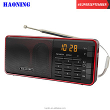 2017 new arrival OEM dongguan factory price am fm sw portable radio