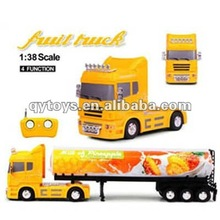 New 1:38 4 Channels RC Fruit Truck RC 4 Wheel Drive Trucks