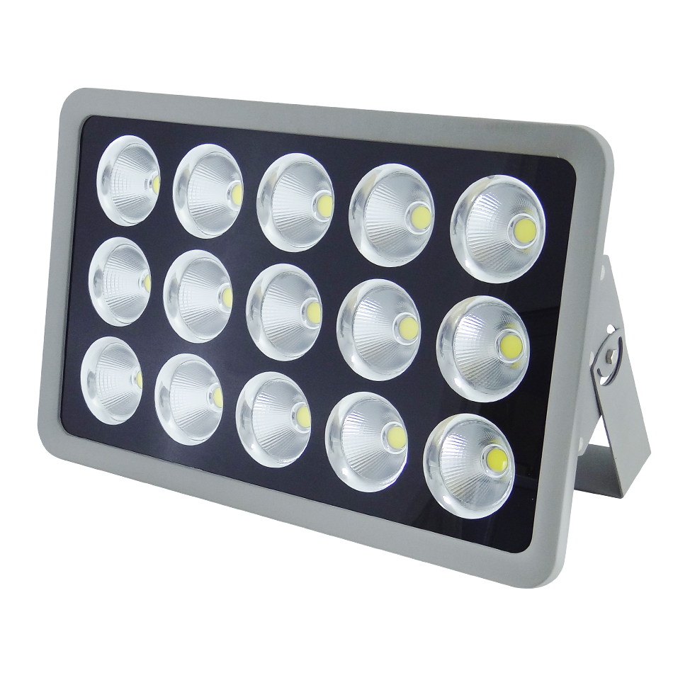 CE certified High power aluminum housing water proof outdoor COB LED flood light 600W