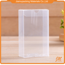 Hard plastic pvc perfume product packaging box