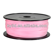 Hot selling Pink pla filament 1kg(2.2lb) per rolls for 3D printer
