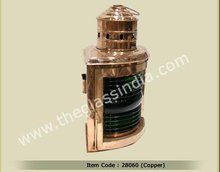 Copper Ships Starboard lamp