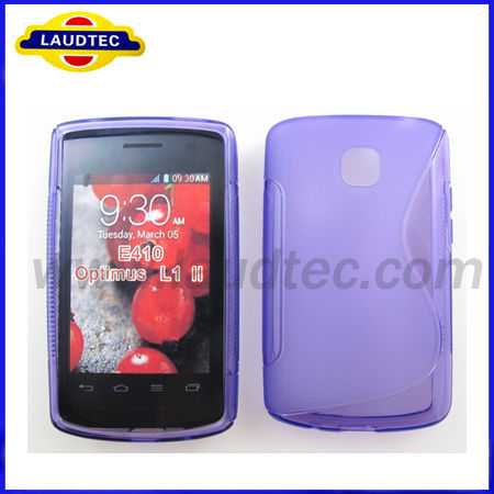 New S Line TPU Soft back Case Cover For LG Optimus L1 II E410