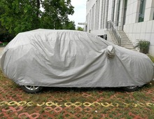 Dust/frost/dew/snow/hail resistant car protection cover