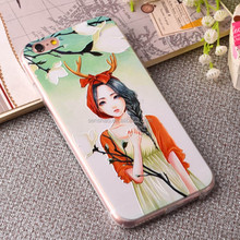customized phone case cover beauty animal sex girl mobile phone case for iphone 6