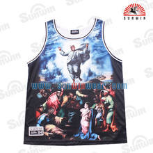 Custom sublimation basketball jersey pictures