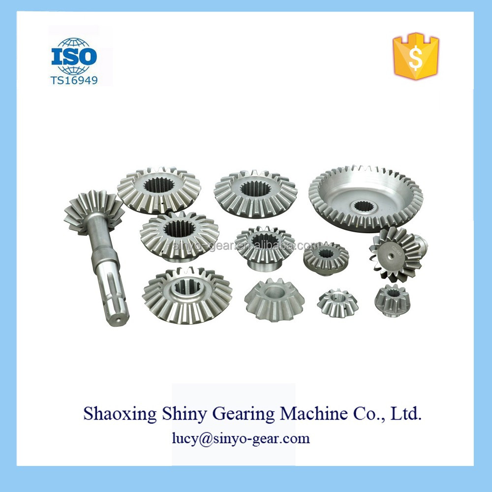 Shiny Bevel Gear and Gear Shaft Machine