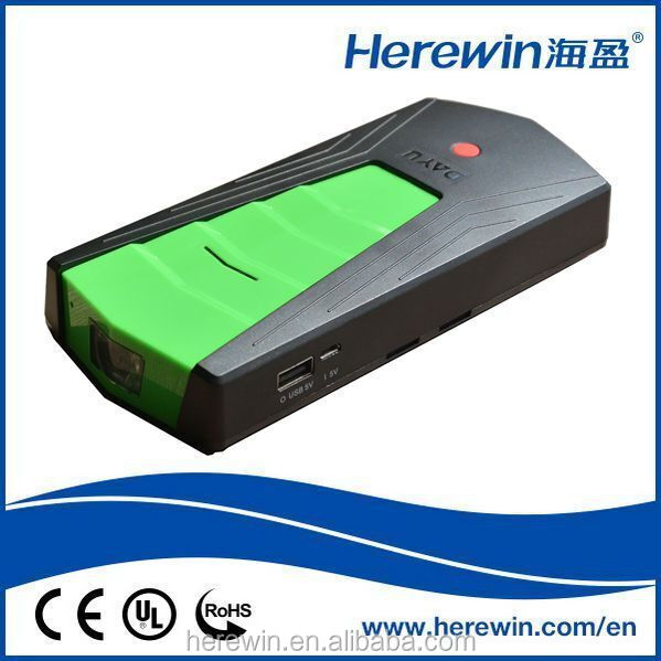 Wholesale hot sale 13600mAh Li-on polymer batteries multi-function powerful mini auto jump starter lipo car battery