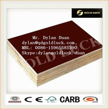 Strand woven bamboo film faced plywood with best prices