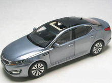 Custom mold design kia k5 metal die cast model car 1 18 for collection