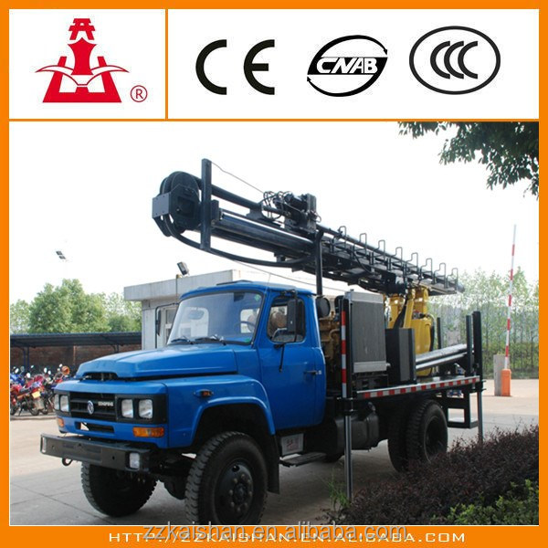 tractor mounted water well drilling rig 300M Depth Portable Crawler water well drilling machine