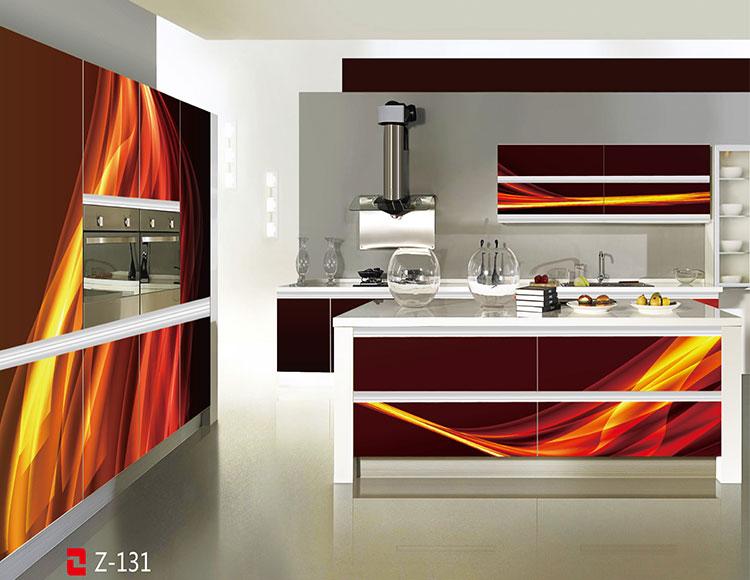 Direct imported 3D/4D design glass kitchen cabinets from china & Direct Imported 3d/4d Design Glass Kitchen Cabinets From China - Buy ...