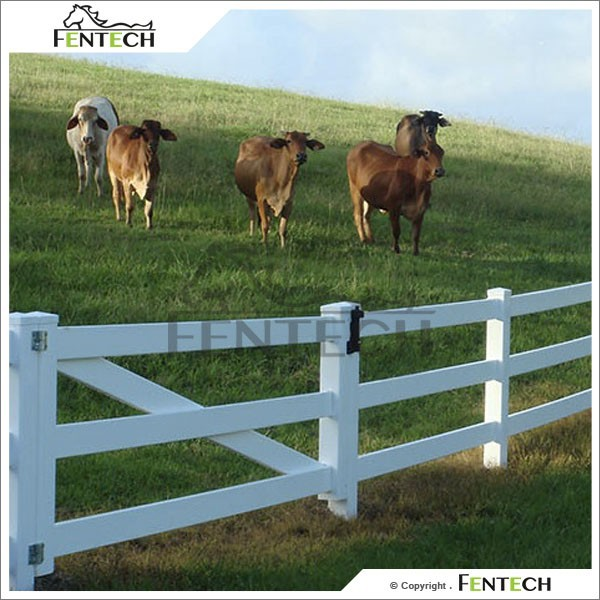 High Quality Made in China Fentech Cheap 3 Rail Goat & Sheep Panels