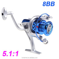 Pesca 8BB Ball Bearings ST4000 5.1:1 Fishing Reel Left/Right Collapsible Handlle Saltwater Spinning Reel