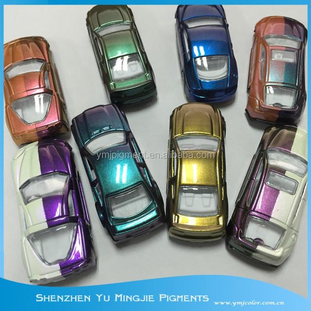 Metallic Auto Pigment, UV Safe Chameleon Pearl Pigments for Auto Paint