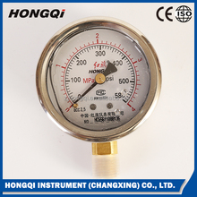 YTN60,YTN100 oil filled Manometer Liquid Filled Pressure Gauge ,DIN standard 0~150 psi& 0~1 Mpa