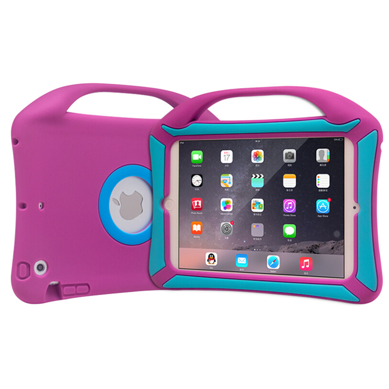 Hot !!! High Quality Heavy Duty Kid proof Rugged Tablet Case for iPad air 1 / 2