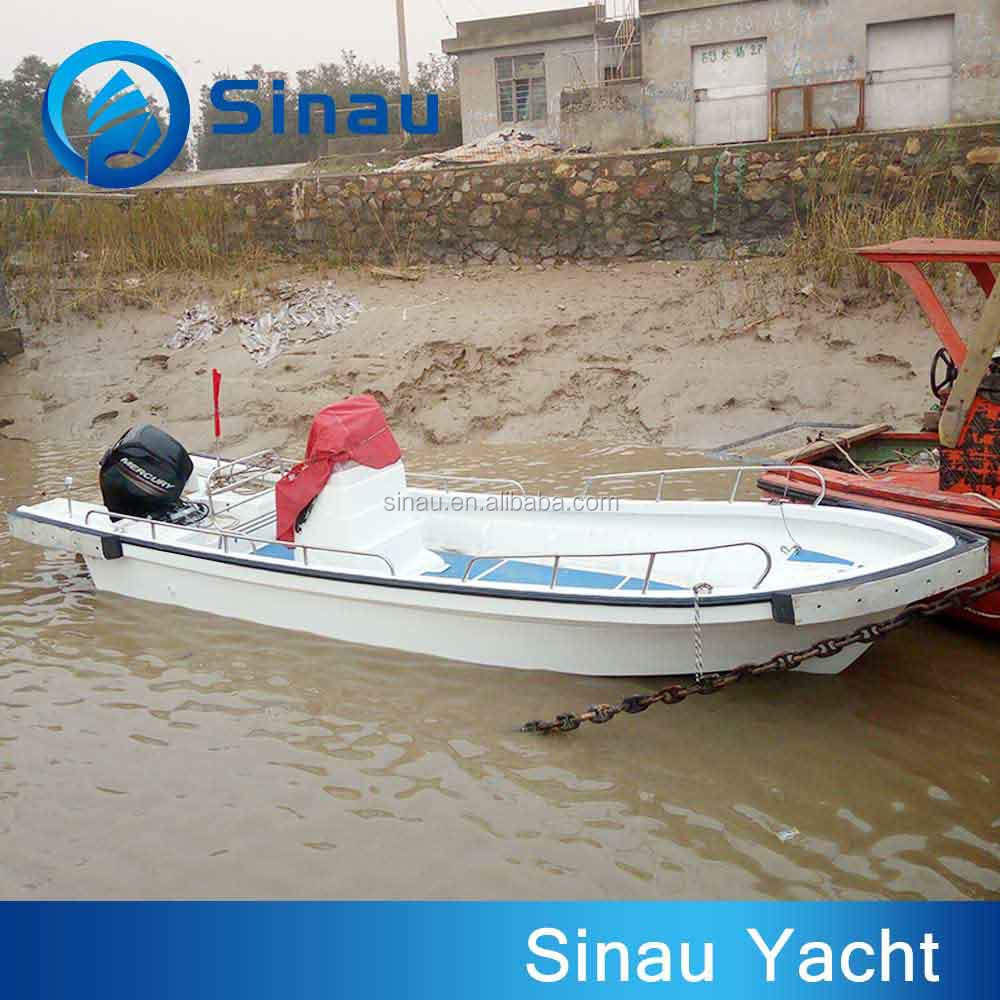 6.9m 22.6ft outboard motor fiberglass speed fishing boat