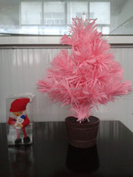 Battery Powered Desktop Fiber Optic Christmas Tree