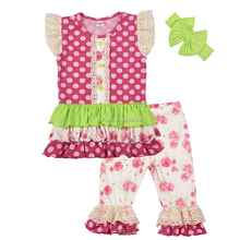 CONICE NINI Brand Wholesale girl boutique remake sets fashion kid clothing children's boutique clothes
