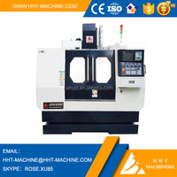 V65 3 axis cnc milling machine with MITSUBISHI Controller