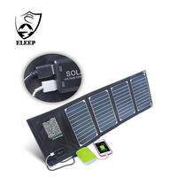 Portable Folding Solar Charger With High