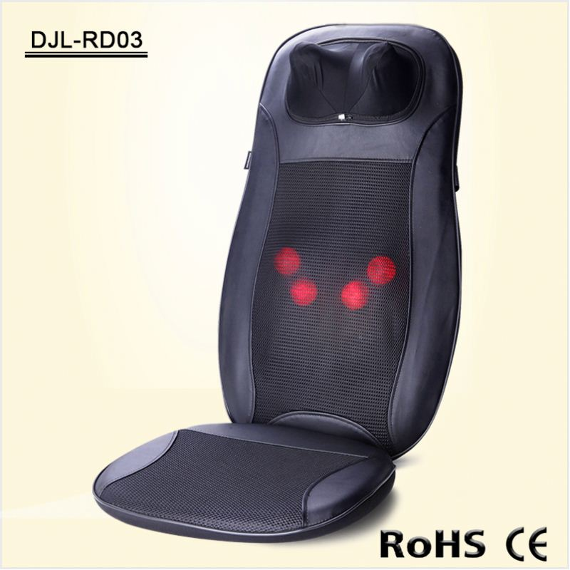 2016 New Pu Leather Multifunctional Car Seat Massage Cushion