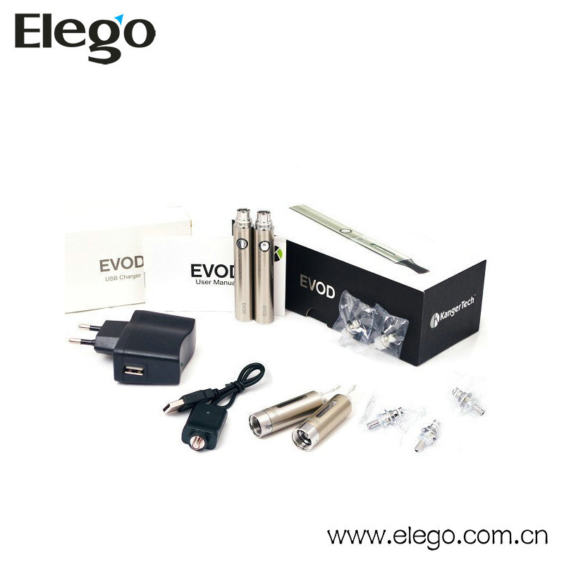 Kanger tech evod vapor kit E-ciagarette vaporizer pen kit Elego wholesale