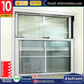 Guangzhou Alufront aluminium vertical sliding window sash window and double hung windows