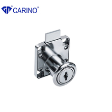 Finely processed zinc alloy material furniture drawer locks