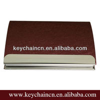Fashion cheap leather business name card holder