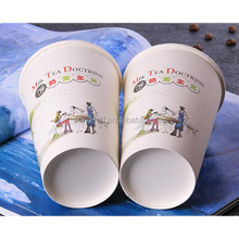 Pe coated paper cup carrier for hot drink