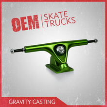 Pro quality long board truck in 8inch hanger size ,anodizing long skateboard trucks made by leading factory in China