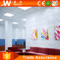 [WS54M3A] Glossy Building Material Decorative Classical Wall Coating Design 3D PVC Wall Panelings