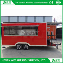 2017 China Manufacture New Design Hot Selling Concession KItchen BBQ Food Cart Mobile Food Truck For Sale